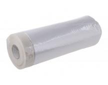Páska maskovací samolepící s folií 180cmx15M