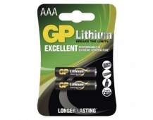 Lithiová baterie GP AAA (FR03) - 2ks