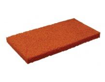Houba jemná oranž.  náhradní 220x130x18mm