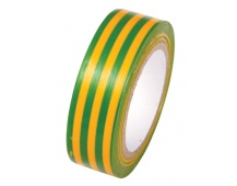 Páska izolační PVC 19x0. 13mmx10m žlutozelená