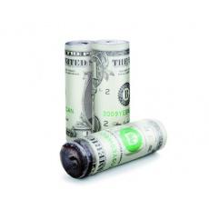 HAPPY GREEN Sada podpalovačů, 3 ks, dekor dolar