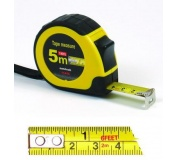 Svin.metr 5Mx19mm páska:cm/inch
