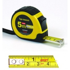 Metr svinovací 5mx19mm páska:cm/inch