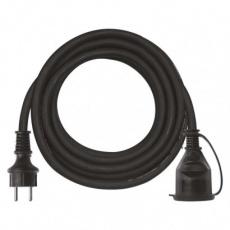 Prodlužovací kabel gumový – spojka, 5m, 3× 1,5mm2