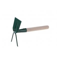 Motyčka plochá/2hroty s násadou 27cm