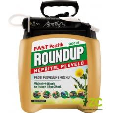 Roundup Fast / bez glyfosátu - 5 l rozprašovač /P&GO 2/ EVERGREEN