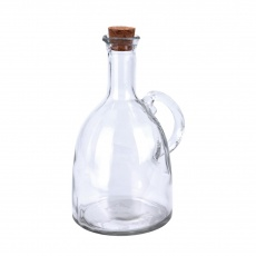 Láhev sklo/korek ocet/olej 0,6l