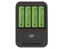 Nabíječka baterií GP PB570 + 4× AA GP ReCyko+ 2700