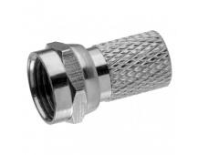 Konektor F vidlice pro koax CB113 - 10ks