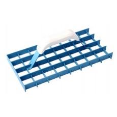 Hladítko brusné mříž.  ozubené 290x145mm