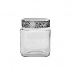 Dóza sklo/UH GRANIT hranatá 1l