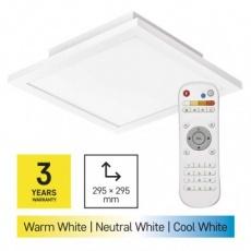 LED přisazené svítidlo EXCLUSIVE, čtvercové 20W, stmív. se změnou CCT