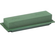 Florex - table deco miska zelená medi 25x9x5 cm