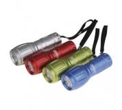 LED ruční kovová svítilna P3882, 50 lm, 3× AAA, 12 ks - 12ks