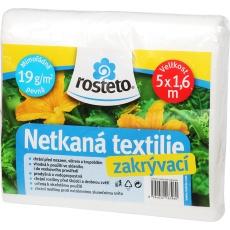 Neotex / netkaná textilie Rosteto - bílý 19g šíře 5 x 1,6 m