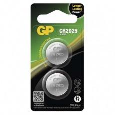 Lithiová knoflíková baterie GP CR2025 - 2ks