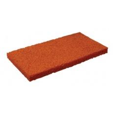 Houba jemná oranž.  náhradní 250x130x12mm