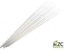 Dekorace - Spirála Stick Raffia - 10 ks