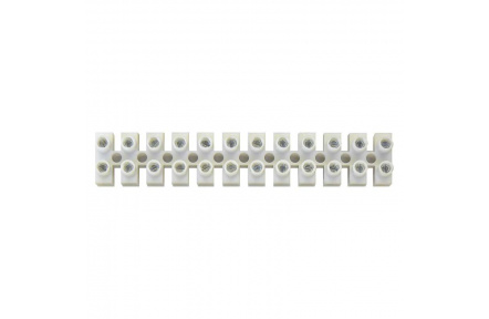 Svorkovnice 12x16,0 mm bílá - 10ks