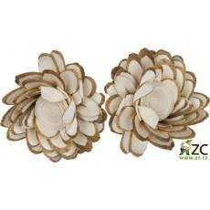 Dekorace - Sola Chips Lotus 6 cm - 2 ks