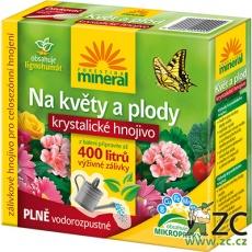 Krystalické hnojivo s lignohumátem - Na květy a plody 400 g