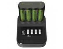 Nabíječka baterií GP Pro P461 + 4× AA ReCyko 2700 + DOCK