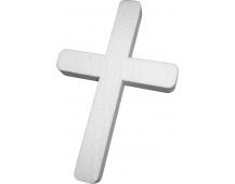 Kříž polystyren - velký 30 x 19 cm