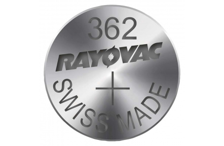 Knoflíková baterie do hodinek RAYOVAC 362 - 10ks