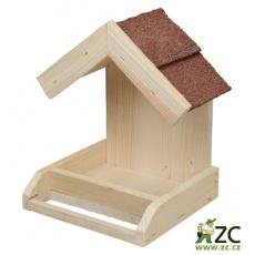 Krmítko pro venkovní ptactvo - č. 21. nástěnné
