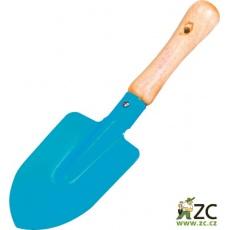 Dětský rýč malý modrý 21 cm Stocker