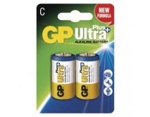 Alkalická baterie GP Ultra Plus C (LR14) - 2ks