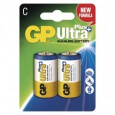 Alkalická baterie GP Ultra Plus C (LR14) - 2ks