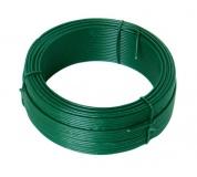 Vázací drát 1.4mmx50M zelený PVC