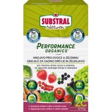 Substral granulovaný Performance Organics - ovoce a zelenina 750 g EVERGREEN