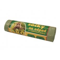 Sáček do koše s páskou LDPE 60l EKO
