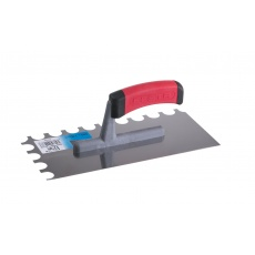 Hladítko FESTA nerez gumová rukojeť 280x130mm zub O16