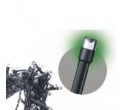 Spojovací Standard LED vánoční řetěz, 10m, zelená