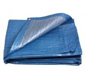PE plachta  6x10/70 modr/stř