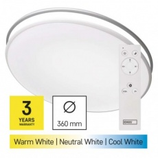 LED přisazené svítidlo, kruhové 24W, stmív. se změnou CCT