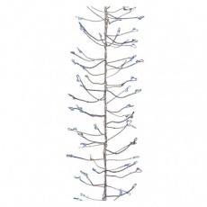 LED vánoční nano řetěz – ježek, 2,4m, modrá, časovač