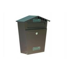 Poštovní schránka hnědá 29x36x10. 5cm 971