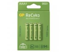 Nabíjecí baterie GP ReCyko 1000 AAA (HR03) - 4ks