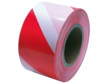 Varovací páska 250M, červ-bílá bez potisk