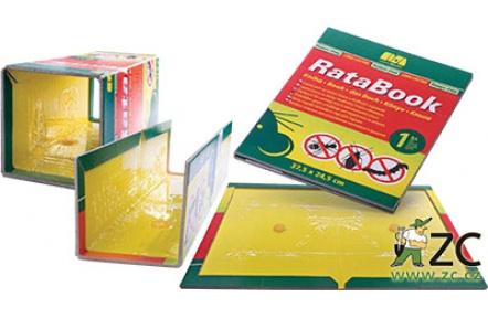 Lapač (kniha) na lezoucí hmyz RataBook