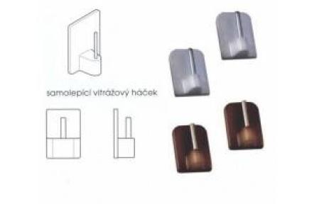 Háček vitráž. samolepící  3000370 3000371H