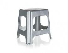 KEEEPER Stolička vysoká 41 x 33,5 x 42,5 cm, šedá
