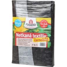 Neotex / netkaná textilie Rosteto - černobílý 50g šíře 5 x 1,6 m
