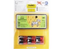 Odhaněč akustický - OdM 3 s bateriemi (6ks) v blistru