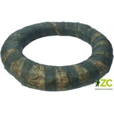 Kroužek slaměný obalovaný - 20 cm