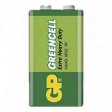Zinková baterie GP Greencell 9V (6F22)